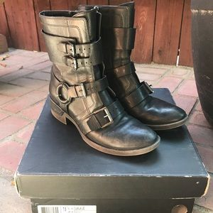Kenneth Cole Biker Boots